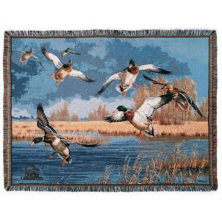 Ducks Unlimited Down From the North Woven Throw