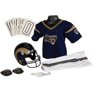 Franklin St. Louis Rams Youth NFL Team Helmet and Uniform Set