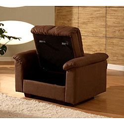 Multifunctional Microsuede Sofa Bed and Chair Set