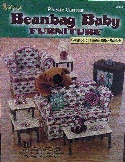 Plastic Canvas Beanbag Baby Furniture: 10 Designs: Sandra Miller
