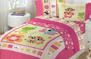 Shop Comforter Set 2 Pc Twin Girls Bedding Animals Bed: Home & Kitchen