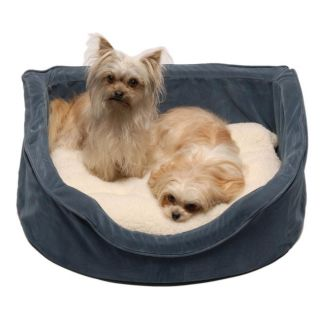 Blue 35 inch Hearth Pet Bed