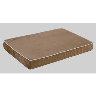 Isotonic Plat Microvelvet Dog Foam Mattress Color: Acorn