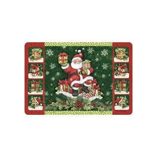Kay Dee Laminate Placemat Traditional Santa Claus