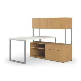 HON HONVS6060L5B Voi Contemporary L Station, Low Credenza
