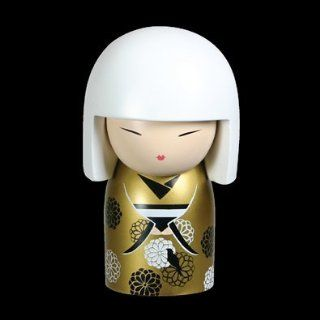 Kimmidoll Japanese Kokeshi Doll   Yuki, Luck: Home