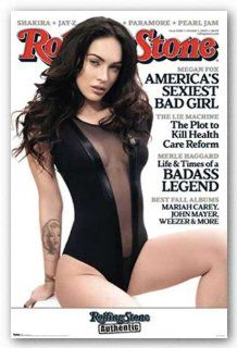 Megan Fox Rolling Stone Sexy Bad Girl Poster Print, 22x34