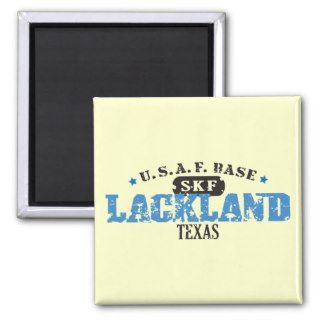Air Force Base   Lackland, Texas Magnets
