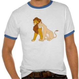 Lion Kings Adult Simba and Nala Disney T Shirt