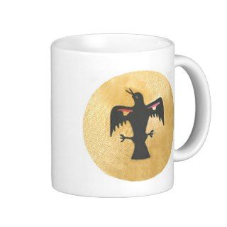 Raven Crow Black Bird Coffee Mug