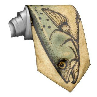 Speckled Trout Custom Tie