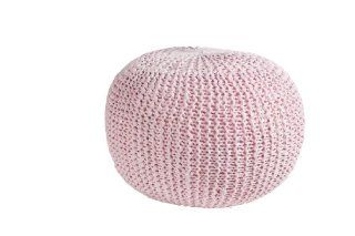 Indoor HOCKER Ottawa   Rose Design Sitzkugel Sitzkissen Pouf Stool