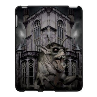 Halloween horror scary demon monster iPad cover