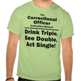 correctional officer t shirt