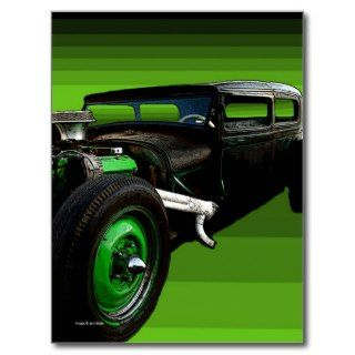 Rat Rod Post Card