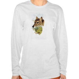 Tasmanian Wolf or Tiger Tee Shirt
