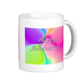 Happy Anniversary Coffee Mugs