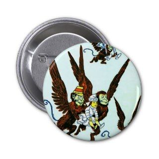 Wizard of Oz Winged monkeys flying monkeys Buttons