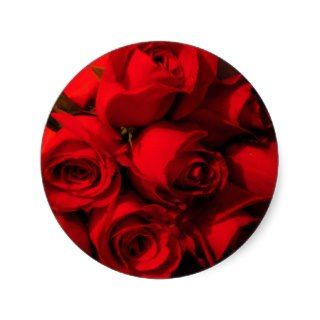 Crimson Bouquet Sticker