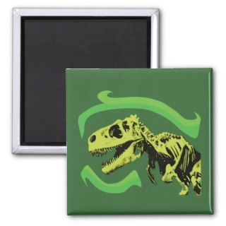 Rex Dinosaur Skeleton Fridge Magnets