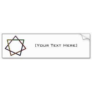 heptagram bumper stickers