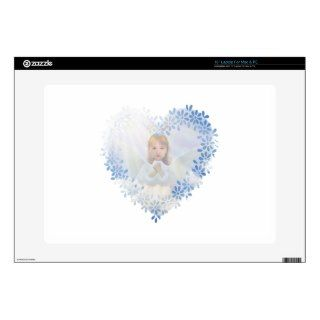 Guardian Angel in a Heart Skin For 15 Laptop