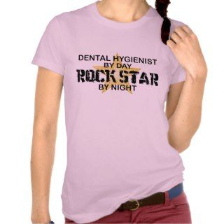 Dental Hygienist Rock Star Shirt