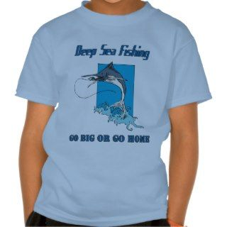 Deep Sea Fishing Kids T shirt