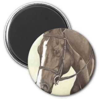 HORSE Champion Appendix QH Mare Fridge Magnets