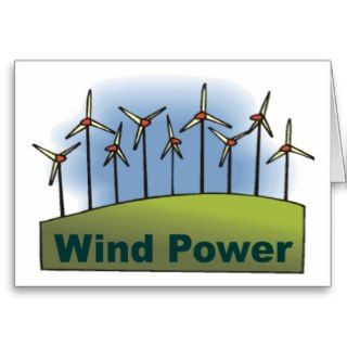 Wind Power Card