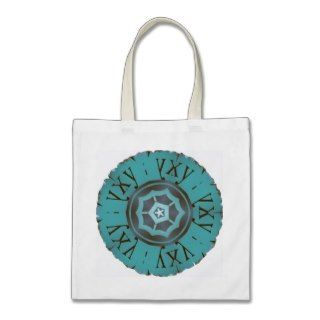 Tote farrowed Greek Cirkle design Bag