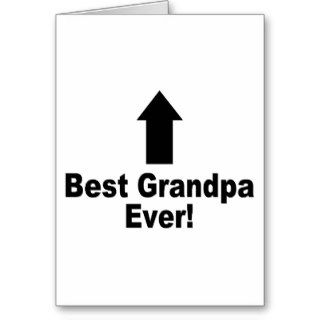 Best Grandpa Ever Greeting Cards