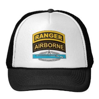 CIB 2nd Award Ranger/Airborne Tabs Hats
