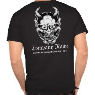 company shirt per your request featuring the hannya mask enjoy