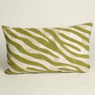 Liore Manne Zebra Sage Rectangle Pillow Set   Decorative Pillows at
