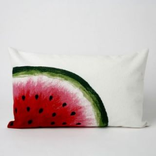 Liore Manne Watermelon Red Rectangle Pillow Set   Decorative Pillows