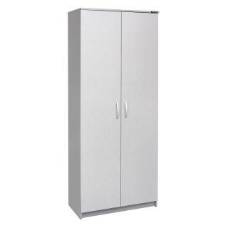 Decker 29.5 in. Storage Cabinet with Adjustable Shelves