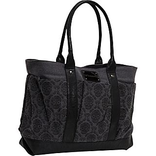 Loungefly Wallpaper Skull Denim Bag