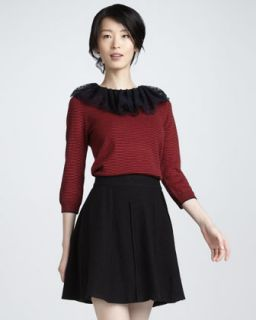 MARC by Marc Jacobs Blythe A Line Wool Skirt
