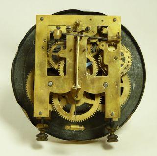 Beautiful Antique German Wall Clock at 1900 R A Pendulum
