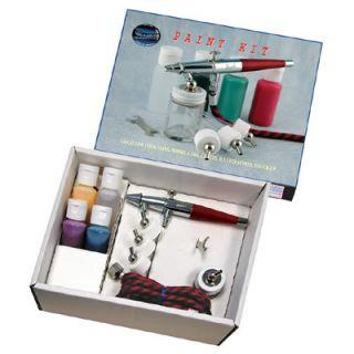 Paasche Airbrush Double Action Artist Hobby Paint Kit