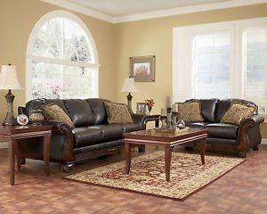 Ashley Furniture Martinsburg Meadow Living Room Set Sofa