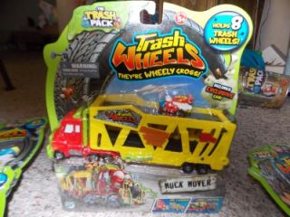 Trash Pack Wheelies Series 1 Muck Mover Truck and 3 4 Packs