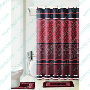 Floral Beige Shower Curtain Fabric White Orchid Bathroom