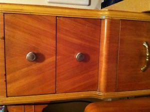 Art Deco Waterfall Bedroom Furniture Dresser Vanity Stool Nightstand