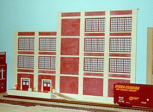 Pecos River O Scale Hersay Book Supply Flat Brick Building Kit