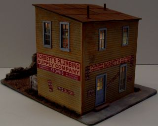 how to build a 1 64 scale barn