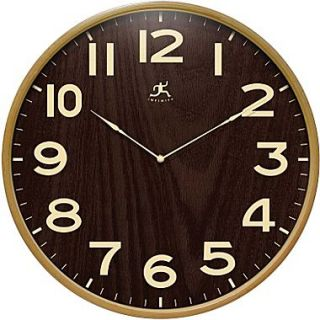 Infinity Instruments Modern Wood Case Wall Clocks