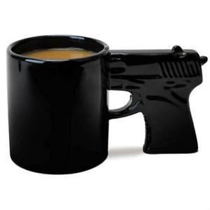 Gun Mug Coffee Cup Brand New in Gift Box Funny Novelty Mug