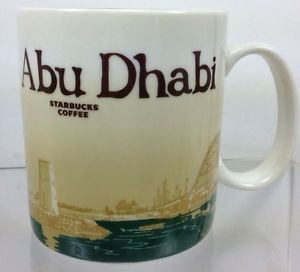 Abu Dhabi Starbucks Global Icon City Mug Coffee Cup Collectible